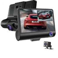 WDR Dashcam 3 Camera Lens Video Car DVR Full HD 1080P
