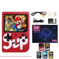 SUP Game Handheld Console 400 In 1 Nostalgic SUP Game Machine Classic Color Screen Sup Game Console |BLACK|