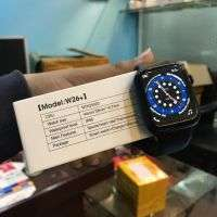 IWO W26 Plus Smart Watch |Waterproof|Infinity Display|Calling|BLACK