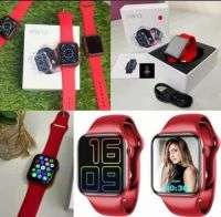 Buy HW12 Smart Watch In Pakistan |RED| Infinity Display | 40mm |