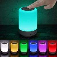 RGB Bluetooth Speaker Round Touch Lamp Speaker CL-671 Size 5 Inch
