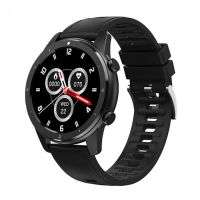 Lemfo F50 Smart Watch Bluetooth Call Custom Dial Men Heart Rate Fitness Tracker | BLACK |
