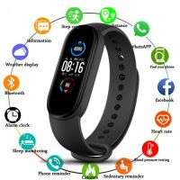 NEW M5 Band Sport Wristband Blood Pressure Monitor Heart Rate For Android And IOS