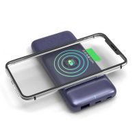 Romoss Wsl10 Wireless Power Bank 10000mah Two Way Quick Charge