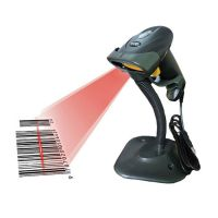 Speed-x 300 2d Wired Barcode Laser Scanner With Stand